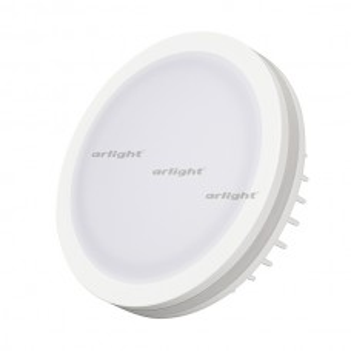 Светодиодная панель Arlight LTD-95SOL-10W Warm White IP44 Пластик 017985