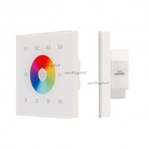 Панель Sens SR-2820B-AC-RF-IN White (220V,RGBW,1 зона) (ARL, IP20 Пластик, 3 года)