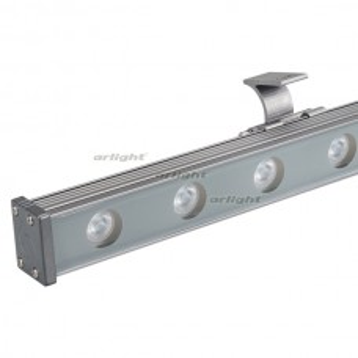 Светодиодный прожектор AR-LINE-1000S-18W-220V Warm (Grey, 30 deg) (ARL, Закрытый) 024300