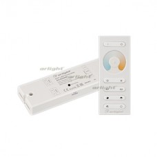 Контроллер Arlight SR-2839MIX White (12-24V, 2x5A, ПДУ) IP20 Пластик 024408
