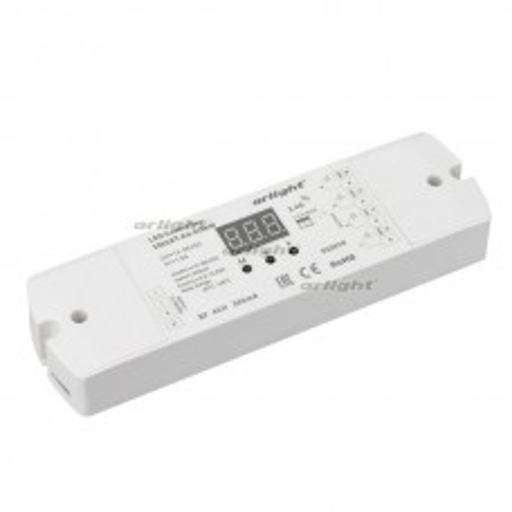 Контроллер тока Arlight SMART-K4-RGBW (12-36V, 4x350mA, 2.4G) IP20 Пластик 022670
