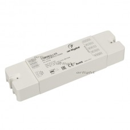 Контроллер ARL-4022-SIRIUS-RGBW (12-24V, 4x6A, RF) (ARL, IP20 Пластик, 2 года)
