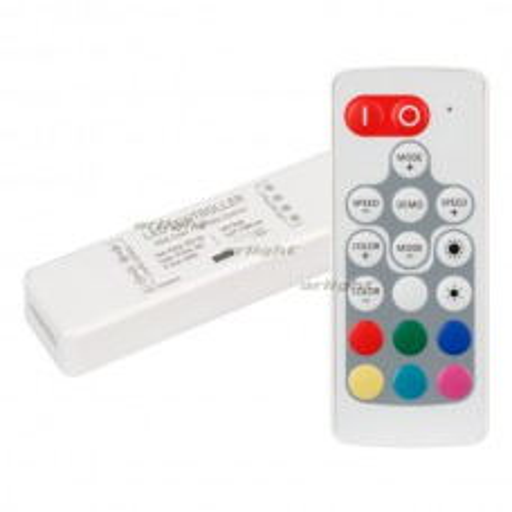 Контроллер Arlight ARL-MINI-RGB-3x4A (5-24V, RF ПДУ 18кн) IP20 Пластик 024983