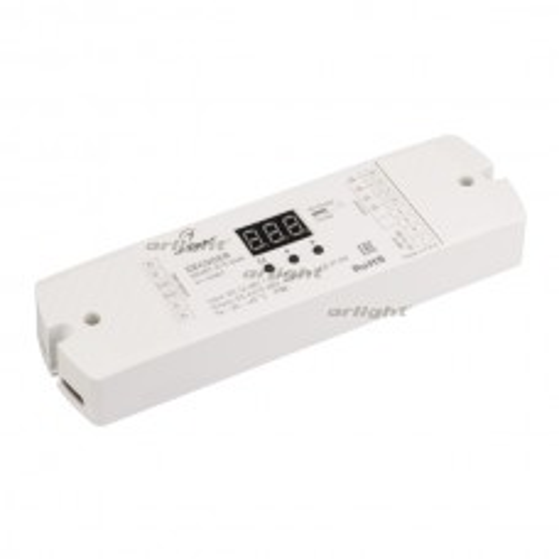 Декодер Arlight SMART-K19-DMX (12-48V, 4x350mA) IP20 Пластик 023827