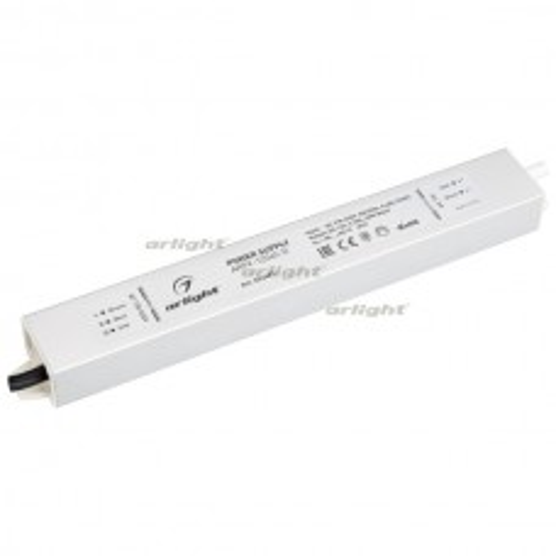 Блок питания ARPV-12045-D (12V, 3.8A, 45W) (ARL, IP67 Металл, 3 года)
