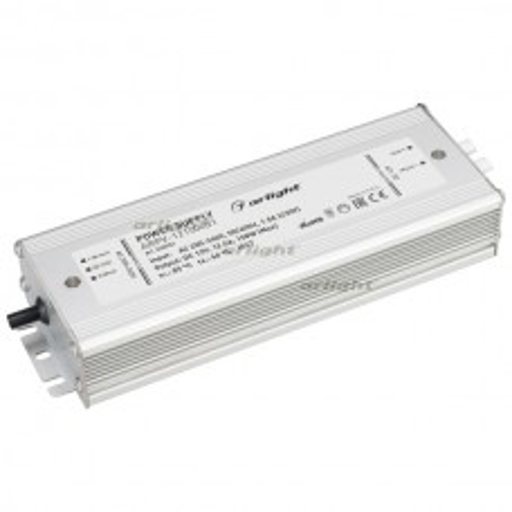 Блок питания ARPV-12150-B1 (12V, 12,5A, 150W) (ARL, IP67 Металл, 3 года)