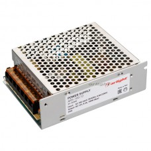 Блок питания Arlight ARS-100-12 (12V, 8.3A, 100W) IP20 Сетка 023608