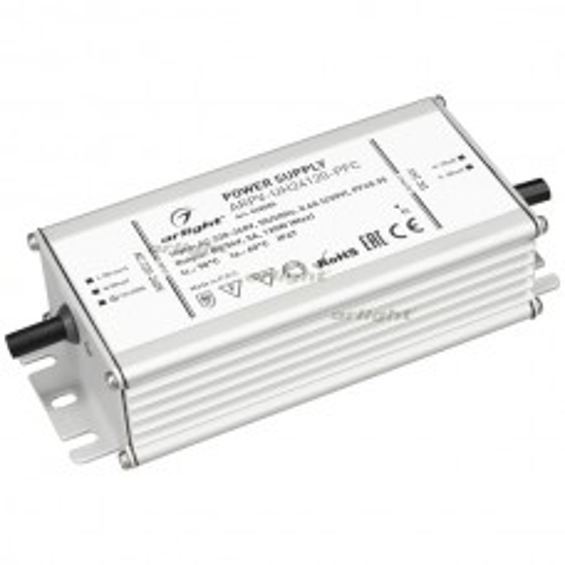 Блок питания Arlight ARPV-UH24120-PFC (24V, 5.0A, 120W) IP67 Металл 028085
