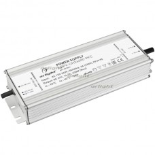 Блок питания ARPV-UH24400-PFC (24V, 16.7A, 400W) (ARL, IP67 Металл, 7 лет)