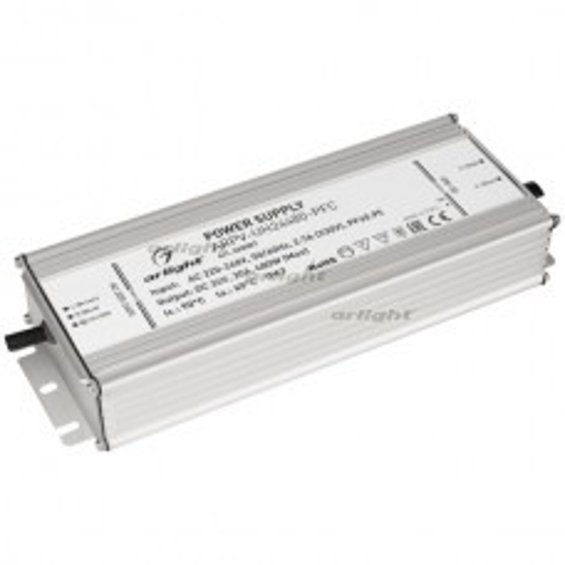 Блок питания ARPV-UH24480-PFC (24V, 20A, 480W) (ARL, IP67 Металл, 7 лет)