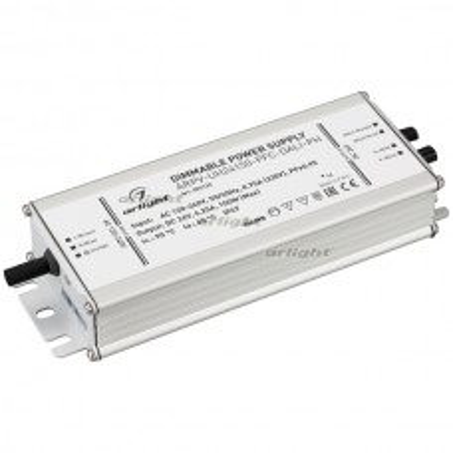 Блок питания Arlight ARPV-UH24150-PFC-DALI-PH (24V, 6.3A, 150W) IP67 Металл 026126