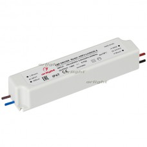 Блок питания ARPV-LV48035-A (48V, 0.8A, 36W) (ARL, IP67 Пластик, 3 года)