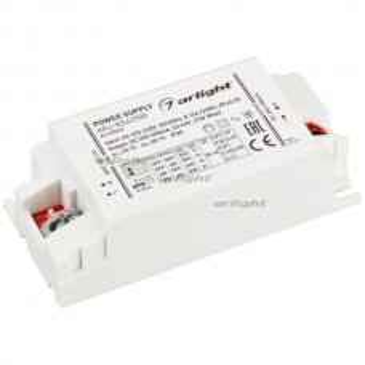 Блок питания Arlight ARJ-KE42500 (21W, 250-500mA, PFC) IP20 Пластик 025243