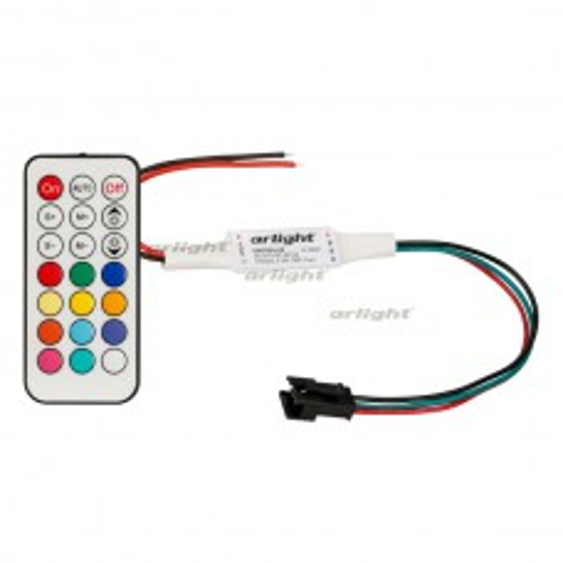 Контроллер Arlight CS-2015-RC-RF21B (1024pix, 5-24V, ПДУ 21кн) 024503