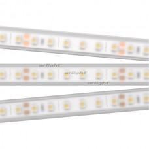 Лента RTW 2-5000PW 24V White6000 2x (3528, 600 LED, LUX) (ARL, 9.6 Вт/м, IP66)