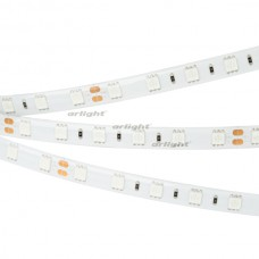 Лента Arlight RTW 2-5000SE 24V Blue 2x (5060, 300 LED, LUX) 14.4 Вт/м, IP65 017482