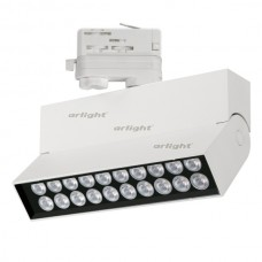 Светильник LGD-LOFT-TRACK-4TR-S170-20W Day4000 (WH, 24 deg) (ARL, IP40 Металл, 3 года)