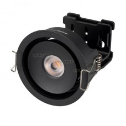 Светильник Arlight CL-SIMPLE-R78-9W Day4000 (BK, 45 deg) IP20 Металл 026871