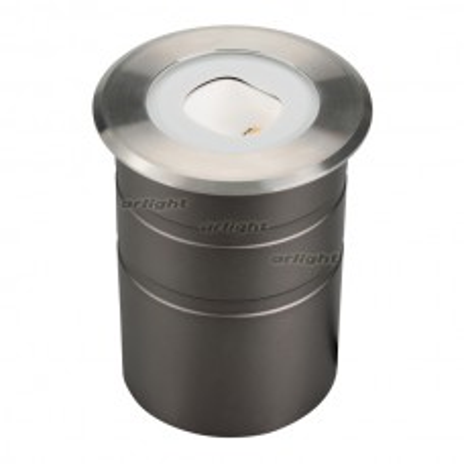 Светильник Arlight LTD-GROUND-TILT-R80-9W Warm3000 (SL, 60 deg, 230V) IP67 Металл 024950
