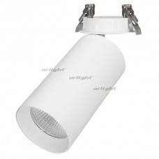 Светильник Arlight SP-POLO-BUILT-R95-25W Day4000 (WH-WH, 40 deg) IP20 Металл 027340