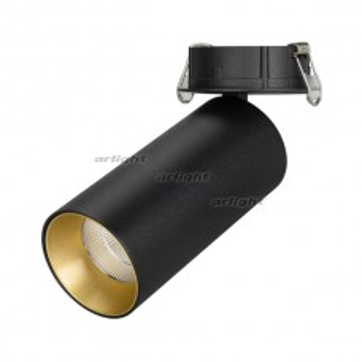 Светильник Arlight SP-POLO-BUILT-R65-8W Day4000 (BK-GD, 40 deg) IP20 Металл 027248