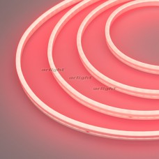 Гибкий неон Arlight GALAXY-1206-5000CFS-2835-100 12V Red (12x6mm, 12W, IP67) 029355