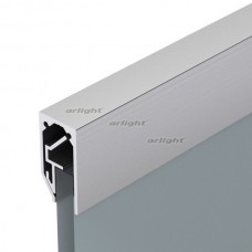 Профиль Arlight ALM-GLASS-6-2000 ANOD (Алюминий) 026695
