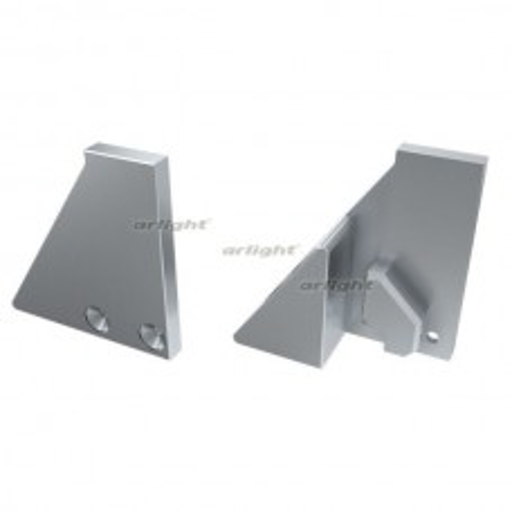 Заглушка для Arlight ALM-GLASS-6 с опорой левая глухая (Металл) 026729