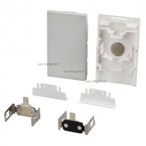 Заглушка Arlight S2-LINE-4067 Silver Пластик 021831