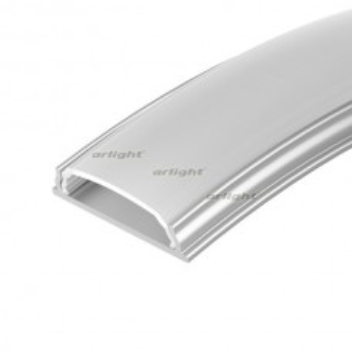 Профиль Arlight ARH-BENT-W18-2000 ANOD (Алюминий) 023087