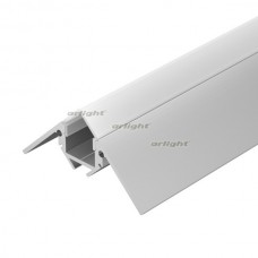 Профиль Arlight ARH-DECORE-S12-EXT-F-2000 ANOD внешний (Алюминий) 023897