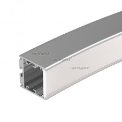 Профиль SL-ARC-3535-D1500-N90 SILVER (1180мм, дуга 1 из 4) (ARL, Алюминий) 026595