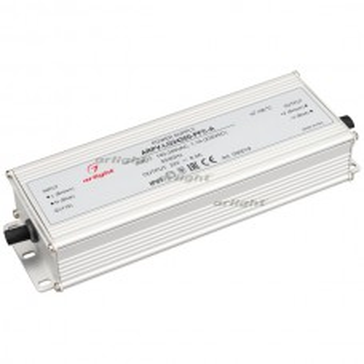 Блок питания Arlight ARPV-LG24200-PFC-A (24V, 8.3A, 200W) IP67 Металл