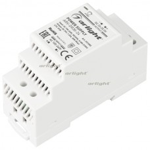 Блок питания Arlight ARV-DR30-24 (24V, 1.25A, 30W) IP20 DIN-рейка 031085