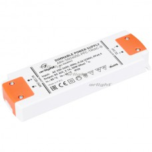 Блок питания Arlight ARV-SN24050-PFC-TRIAC-B (24V, 2.1A, 50W, IP20)