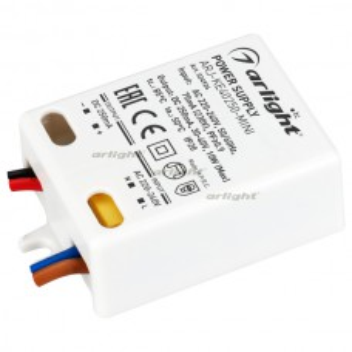 Блок питания Arlight ARJ-KE40250-MINI (10W, 250mA, PFC, IP20) 024924