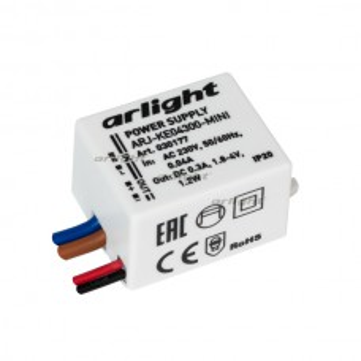 Блок питания Arlight ARJ-KE04300-MINI (1.2W, 300mA, IP20)