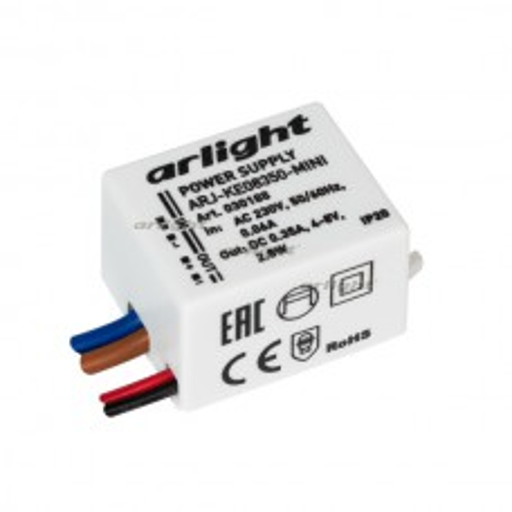 Блок питания Arlight ARJ-KE08350-MINI (2.8W, 350mA, IP20)