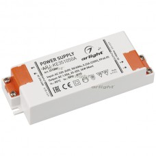 Блок питания Arlight ARJ-KE351050A (37W, 1050mA, PFC) IP20 021380