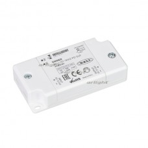 INTELLIGENT ARLIGHT Диммер DALI-101-1kHz-PD-SUF (12-24V, 1х6.25А) IP20 Пластик 032381