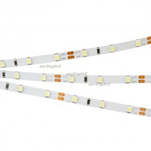 Лента Arlight RT 2-5000 12V White6000 5mm (3528, 300 LED, LUX) 4.8 Вт/м, IP20 028612