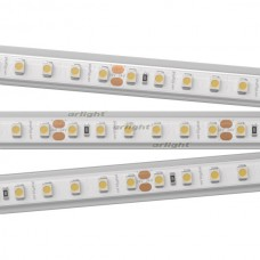 Лента Arlight RTW 2-5000PS-50m 24V Warm3000 2x (3528, 120 LED/m, LUX) 9.6 Вт/м, IP67