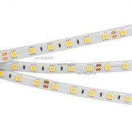 Лента Arlight RTW 2-5000SE 24V White 2x (5060, 300 LED, LUX) 14.4 Вт/м, IP65 014626(B)