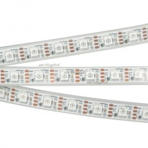 Лента Arlight SPI-5000P-RAM-5060-60 12V Cx1 RGB-Auto (12mm, 8W/m, IP66) 027615(1)