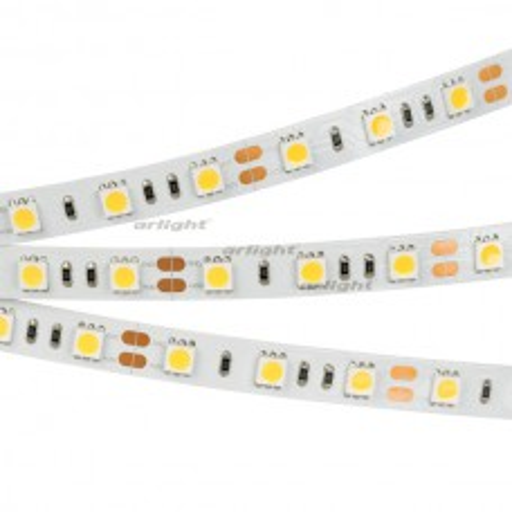 Лента Arlight RT2-5050-60-12V White (300 LED) Norm, 14.4 Вт/м, IP20 014384
