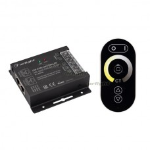 Контроллер ARL-4022-OVAL-MIX Black (12-24V, 2x10A, ПДУ, RF) (ARL, IP20 Металл, 2 года)