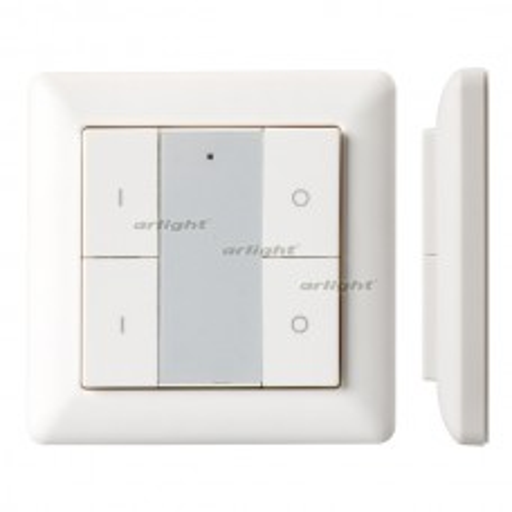 Панель Arlight Knob SR-KN9550K4-UP White (KNX, DIM) 021369