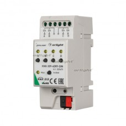 INTELLIGENT ARLIGHT Конвертер KNX-309-4DRY-DIN (BUS) Пластик 025675