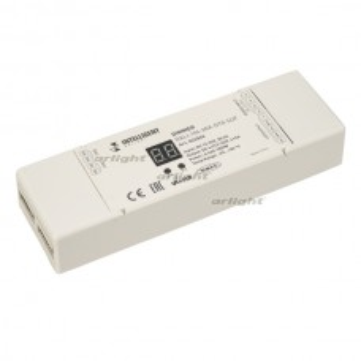 INTELLIGENT ARLIGHT Диммер DALI-104-MIX-DT8-SUF (12-36V, 4х5А) IP20 Пластик 026506