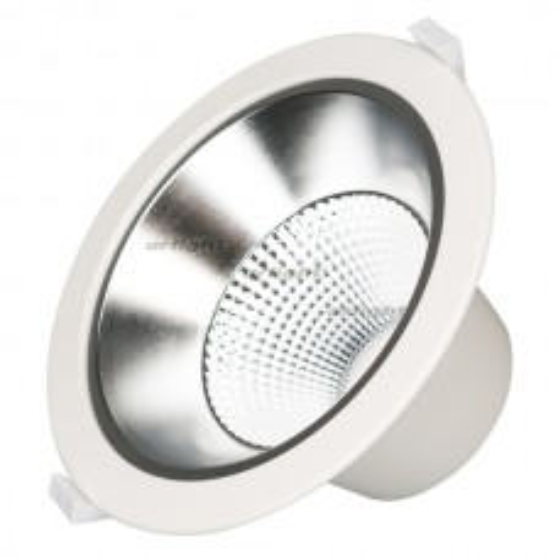 Светильник LTD-LEGEND-R115-10W Warm3000 (WH, 50 deg) (ARL, IP20 Металл, 3 года)